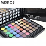 MISKOS 78 Color Eyeshadow Palette Set 48 Eyeshadow + 24 Lip Gloss +6 Foundation face powder Blush Makeup Kit Cosmetics