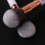 10 pcs Professional Marble Style Soft Makeup Brushes Set