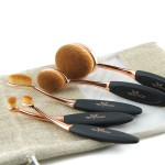 5pcs Oval Multipurpose Makeup Brush Set