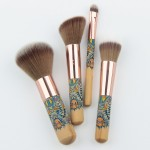 Anmor 4 pcs Blush Eyeshadow Makeup Brush Set
