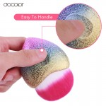Docolor New Heart Foundation Makeup Brushes Dense Synthetic Hair Cosmetic Tool Colorful Make Up Brush
