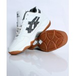 White Grey Stitched Design Sports Shoes DR-383