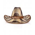 Mustard Ribbon Cowboy Style Straw Hat CPT-734