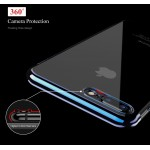 FLOVEME Bumper Clear Soft Ultra Thin Transparent Protective Back Cover iPhone Case