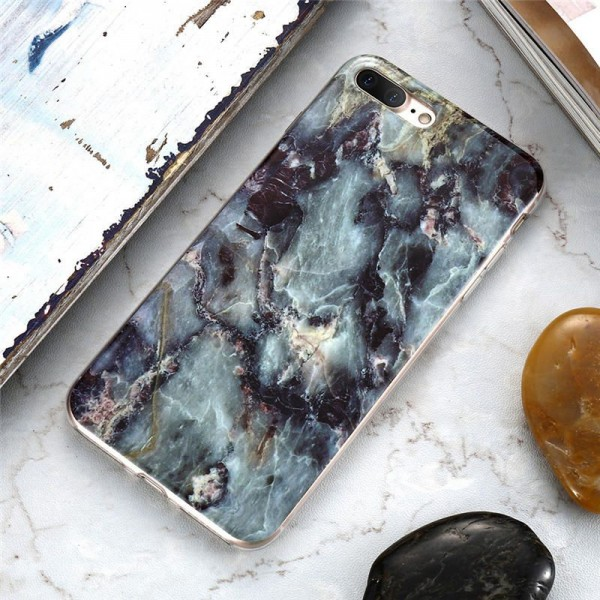 Grey Pattern FLOVEME Marble Case For iPhone