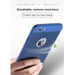 Twitch Blue Heat Dissipation Phone Case For iPhone
