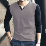 Pack Of 3 Button Style Raglan T-Shirts PC-321
