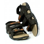 Brown Tri Strap Stylish Casual Sandal DR-449