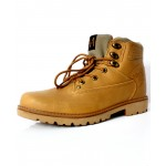 Camel Brown Stitched Stylish Casual Boots DR-388