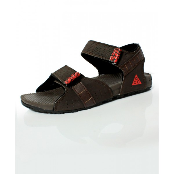 Coffee Brown Dual Strap Casual Sandal DR-489