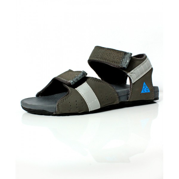 Gray Dual Strap Stylish Design Casual Sandal DR-490