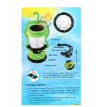Pack Of 2 Solar Rechargeable LED Camping Lamp SL-7005