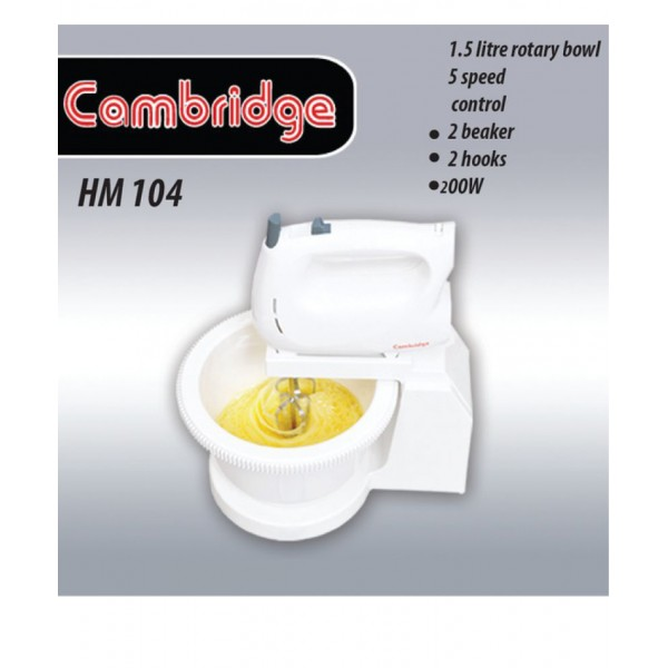 Cambridge Hand Mixer HM-104