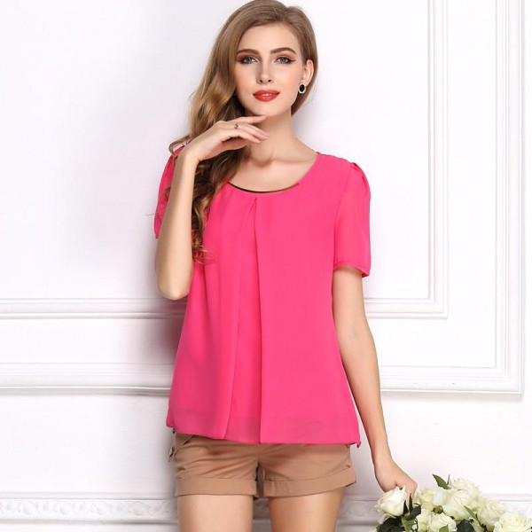 PINK ELEGANT TOP FOR WOMEN