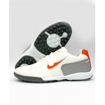 Orange White 900 Stitched Design Sports Shoes DR-181