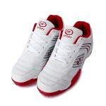 White And Red Stitched Design Sports Shoes DR-156