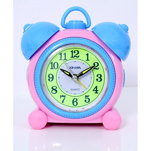 Blue Pink Pearl Alarm Clock TC-726