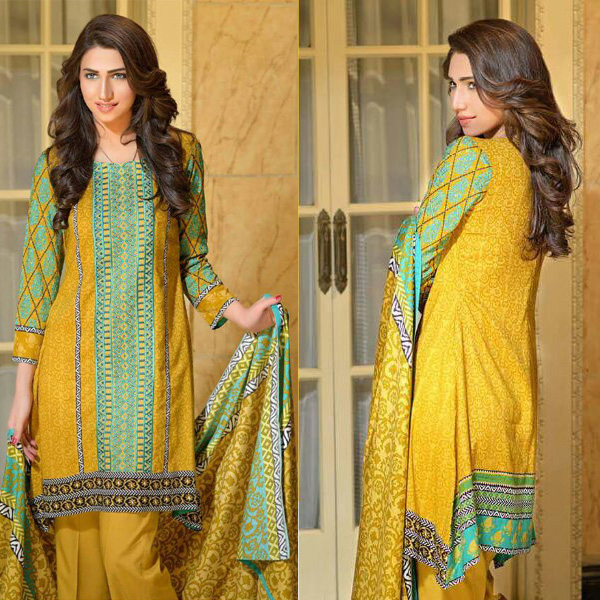 Reeva Linen Embroidered Unstitched Suit 4B