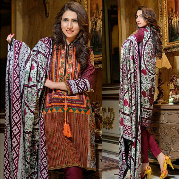 Reeva Linen Embroidered Unstitched Suit 2A