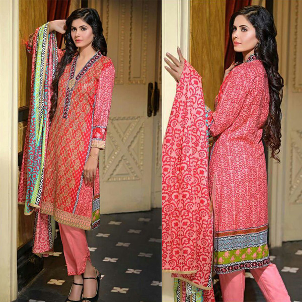 Reeva Linen Embroidered Unstitched Suit 4A