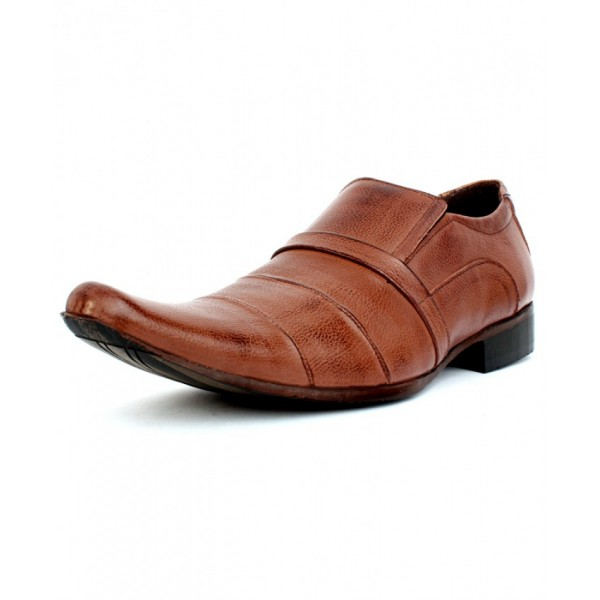 Brown Cut Out design Formal Shoes CB-5001