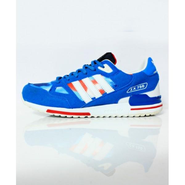 Navy Blue White Stripes Stylish Sports Shoes DR-471