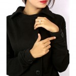 Stylish Black Winter Coat For Women