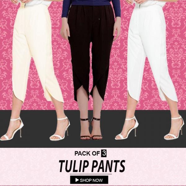 Pack Of 3 Tulip Pants