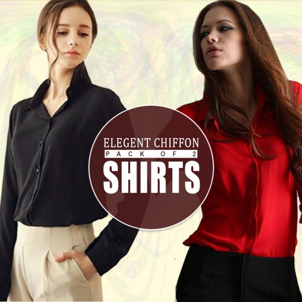 Pack Of 2 Shirts for Women