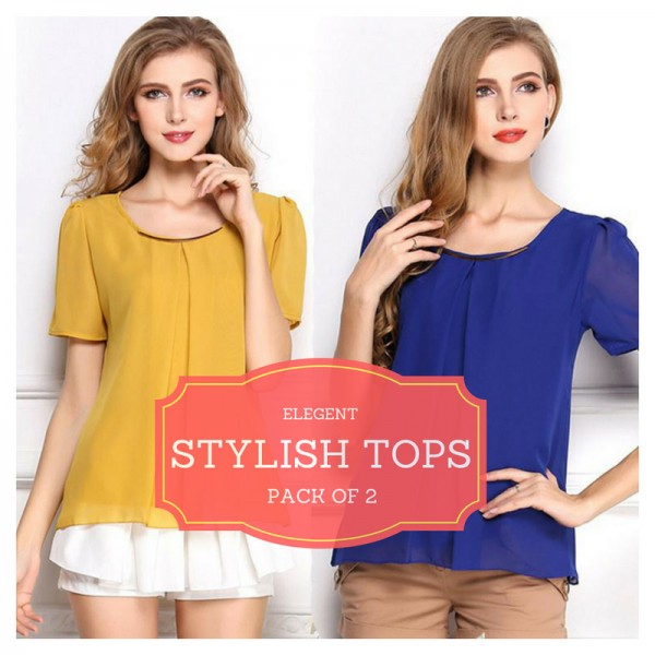 Pack Of 2 Elegant Tops