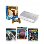 Sony Bundle Offer 2: Playstation 3 -  God Of War Edition 500GB + Metal Gear Rising + Book Of Spells + Lego Batman 3