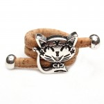 Cute Cat Antique Sliver Vintage Ring
