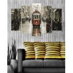 Wall Canvas Frames Digitally Printed Istanbul Tram FR-1025