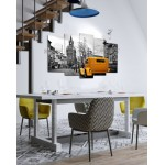 Set of 5 Pieces Printed Wall Frames FR-9050