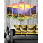 Wall Canvas Frames Digitally Printed Beautiful View FR-1009