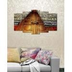 Wall Canvas Frames Digitally Printed 5 Pieces FR-1223