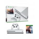 Microsoft Xbox One S - 1TB Console - Battlefield 1 - White