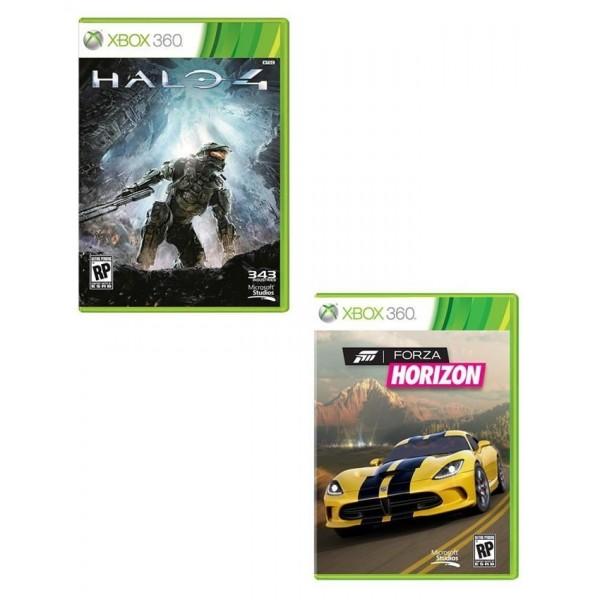 Microsoft Bundle Pack: Forza Horizon & Halo 4 - XBOX 360