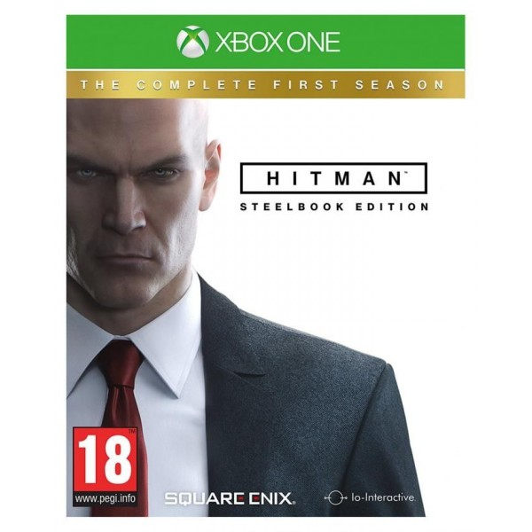 Square Enix Hitman: The Complete First Season Steelbook Edition - Xbox One