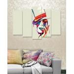 Wall Canvas Frames Digitally Printed 5 Pieces FR-1187