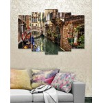 Wall Canvas Frames Digitally Printed 5 Pieces FR-1205
