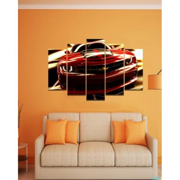 Wall Canvas Frames Digitally Printed Car FR-1099