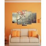 Wall Canvas Frames Digitally Printed Beautiful View FR-1141