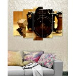 Wall Canvas Frames Digitally Printed 5 Pieces FR-1191