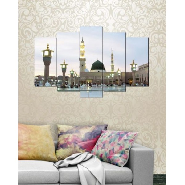 Wall Canvas Frames Digitally Printed 5 Pieces FR-1241