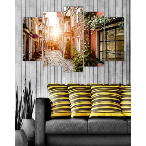 Canvas Frames Digitally Printed Sun Ries view FR-1026