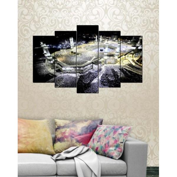 Wall Canvas Frames Digitally Printed Khana E Kaba FR-1244