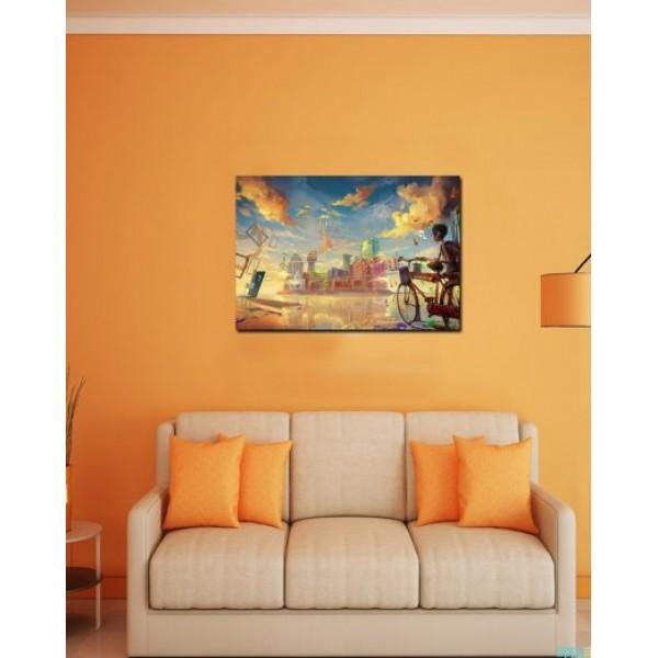 Wall Canvas Frames Digitally Printed FR-3047