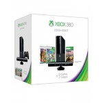 Microsoft Xbox 360 - Ultra Slim (Software Modded) with Kinect - 250 GB - Black