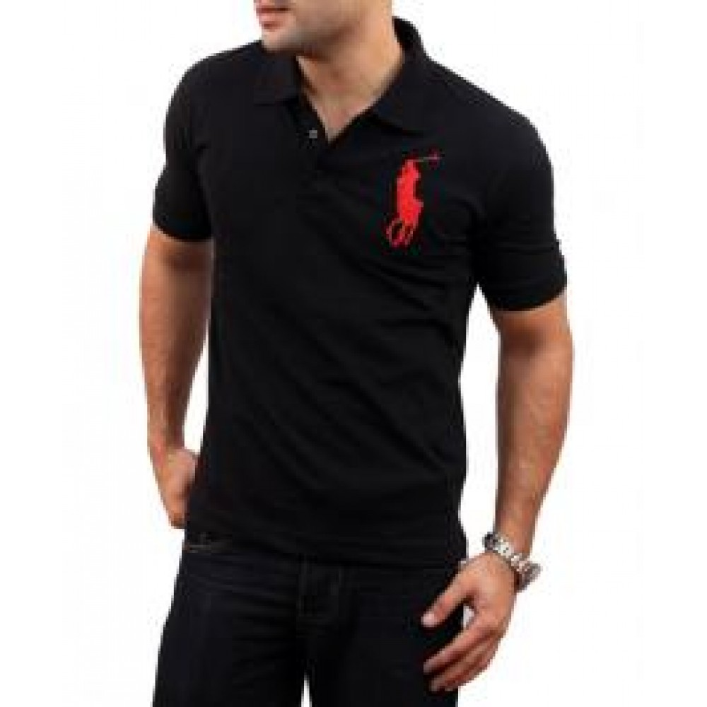 Mens Big Horse Polo Shirts